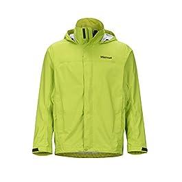 Marmot PreCip, giacca uomo leggera, impermeabile, antivento e traspirante