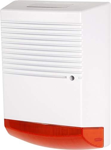 Sirena de alarma simulada con diodos LED intermitentes con panel solarCaracterísticas:  Ésta sirena de alarma ha sido construida con el objetivo de presentarse cómo un sistema de alarma profesional Diodo LED intermitente, hace parecer la sirena más p...