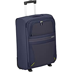 American Tourister Summer Voyager Upright Equipaje de Mano, 55 cm, 38.5 litros, Color Azul