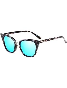 Zhuhaitf Anti Reflejante Sunglasses Al Aire Libre Gafas Marco Grande Gafas de Sol con Caso Encantador Regalo para...