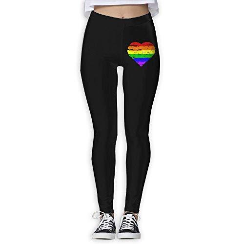 980345d509ae Desing shop LGBT Pride Women's Full-Length Capri Pants Yoga Pants S
