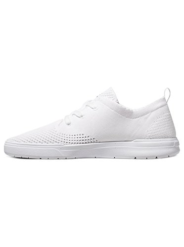 Quiksilver Shorbrkstreknit, Baskets Basses Homme Blanc - White/White/White