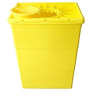 Kanülen-Entsorgungsbox 50 Liter Abwurfbehälter