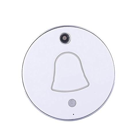 Sharplace Sonnette Sans Fil WiFi Porte Caméra Vidéo Intelligente Nocturne Doorbell