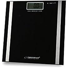 Báscula de grasa corporal para quitar, fitness entrenamiento y pesa Levantamiento de Peso Corporal De Grasa% Músculos% huesos% Porcentaje% de agua Set con 2Maxell pilas AAA la Personas de báscula para análisis de grasa corporal