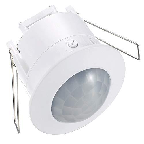 Interruptor Techo Luz 360 Grados Empotrable automático