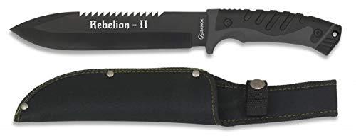 Albainox - 32218 - Cuchillo Supervivencia Albainox. Rebelion2. - Herramienta para Caza, Pesca, Camping, Outdoor, Supervivencia y Bushcraft