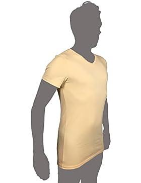 KliSa - 3er-Pack - Business-Unterhemd mit V-Ausschnitt /