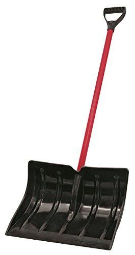 Truper Schneeschaufel, rot und schwarz, 48.26x13.97x132.08 cm, PSC-PE 33820