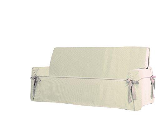 Eysa Plus - Copridivano 3 posti per divani da 170 a 200 cm di larghezza, Colore beige