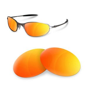 sunglasses restorer Kompatibel Wechselgläser für A Wire 1.0 (Polarized Fire Iridium Gläser)