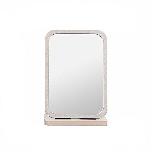 Wooden Folding HD Desktop Make-up Mirror Miroir de toilette portable Fashion Lovely Marry Magnifying the Mirror (1) ( taille : S )