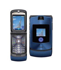 MOTOROLA V3i RAZR Handy BLAU Motorola Razr V3i