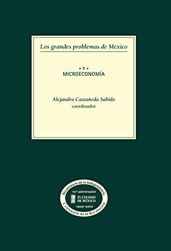 Los grandes problemas de México. Microeconomía. T-X por Alejandro Castañeda Sabido