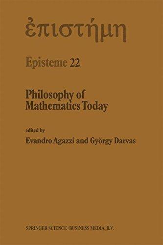 Philosophy of Mathematics Today: Volume 22 (Episteme)