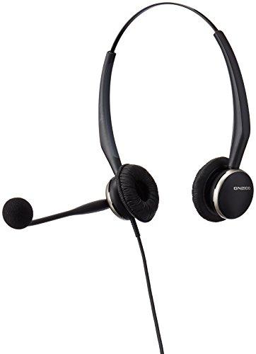 GN 2120 Flex Binaural Over-the-Head Telephone Headset w/Noise Canceling Mic -