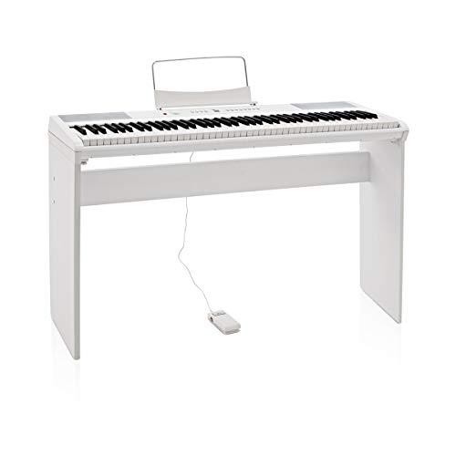 SDP-2 Stage-Piano von Gear4music + Komplettset weiß - 7