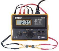 EXTECH Precision MILLIOHM Meter, 220VAC, 4-Wire 380462 Instruments Extech Precision Milliohm Meter