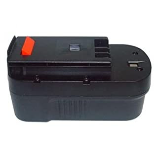 18.00V,1700mAh,Ni-Cd,Replacement Power Tools battery for BLACK & DECKER XTC183BK, XTC18BK, PS182KB, PS18K2, NST1810, NST2018, HPG1800, HPG18K-2, HPD1800, HPD18K-2, HP188F2B, HP188F3B, HP188F3K, HP188F4BK, 244760-00, A1718, A18, HPB18, HPB18-OPE