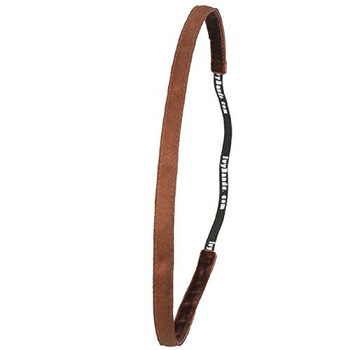 Ivybands Anti-Rutsch Haarband Super Thin Schwarz, One Size