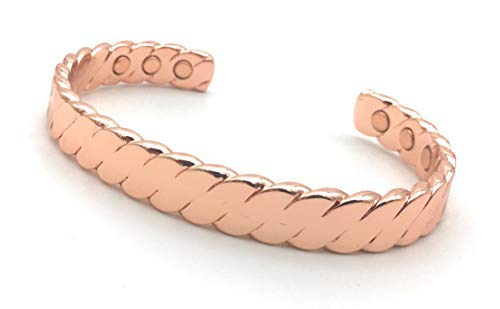 Cretoni Reines Kupfer Magnetische Armbänder für Männer