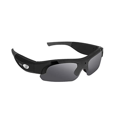 Occhiali da sole mani libere hd 1080p spy video occhiali da sole con lente polarizzata grandi sport all'aria aperta azione videocamera fotocamera moto macchina fotografica pesca macchina fotografica d