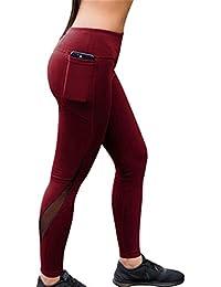 345b9c68526167 Mxssi Long Sweatpants Comfortable Elastic Waist Slim Fit Trousers Women  Fashion Mesh Patchwork Leggings Ladies Workout