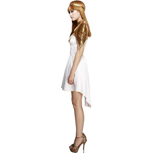 Imagen de con alas doradas y banda de pelo  m es 40/42   vestido de ángel   traje serafín   disfraz angelito alternativa