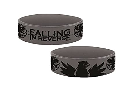 Falling In Reverse Eagle Wristband (Grey)