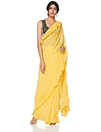 Rina Dhaka Women's Georgette Without Blouse Piece Saree