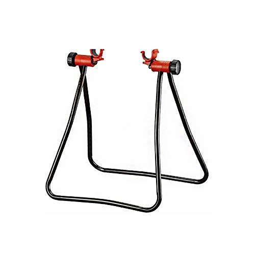 Fahrradständer Einstellbare Höhe Fahrrad Storage Rack Fahrrad-Rad-Hub-Ausstellungsstand Boden Storage Rack Fahrrad-Reparatur-Tritt Ständer Schwarz 1pc -