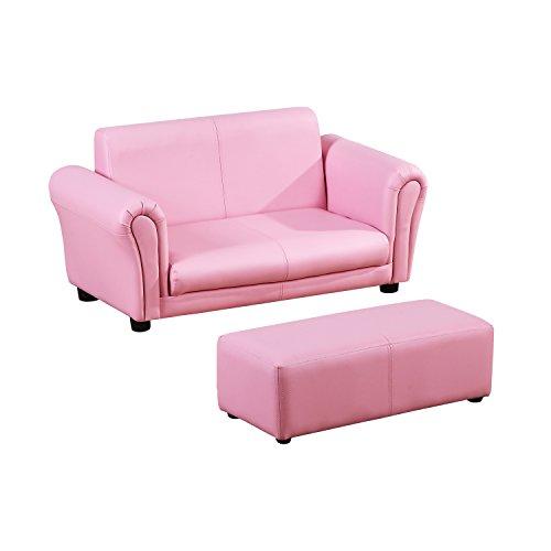 Homcom® Kindersessel Kindersofa Sofa Sessel Kinder Softsofa (Modell2, Rosa)