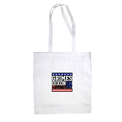 Grimes and Dixon for President - Stofftasche / Beutel, Farbe: (Gamer Kostüm Zombie)