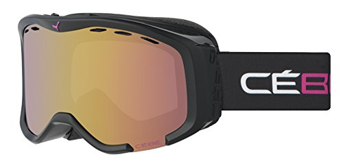 Cébé Skibrille Cheeky OTG Black/Pink/Light Rose/Flash Gold, CBG111