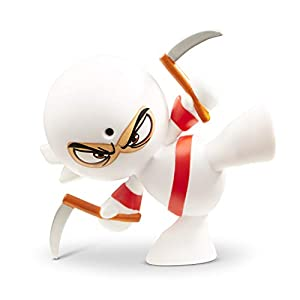Fart Ninjas Sensei Smell (White/Red) Juguete, Color Blanco y Rojo, 8.9-Centimetres (Funrise International 70511)