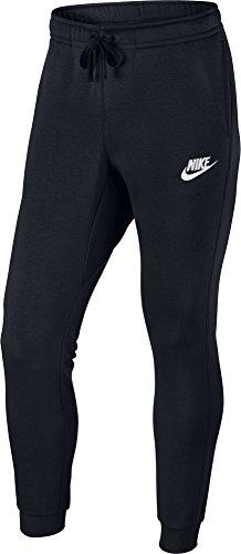 Nike M NSW JGGR FLC SP lange Schwarz / Weiß