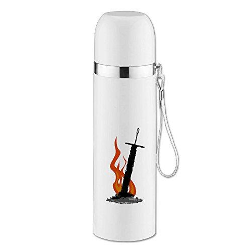 caryonom Dark Souls isoliert Wasser Flasche Travel Mug Vakuum Cup für Office Home Outdoor Erwachsene Kinder (Microsoft Windows Kostüm)
