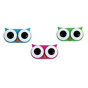 Kontaktlinsen Box Behälter Eule Lens Case farbl. sortiert – Preis pro Stück
