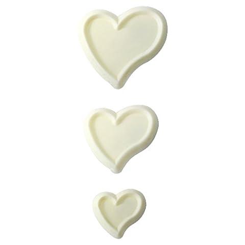 JEM Funky Heart Cutters, Set of 3
