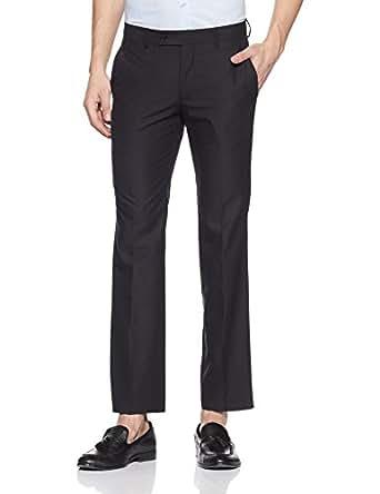 Arrow Men's Formal Trousers (8903952244152_ARGT0615_32W x 34L_Black)