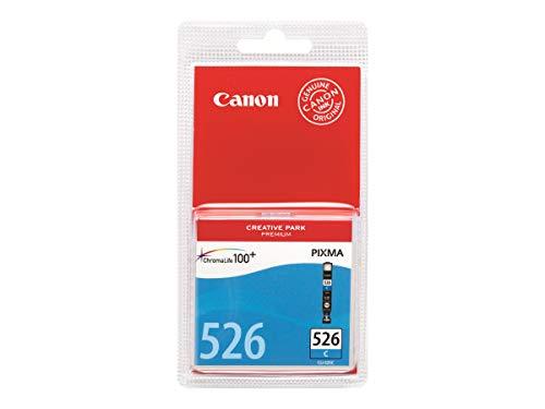 Canon CLI-526 C original Tintenpatrone  Cian für Pixma Inkjet Drucker MX715-MX885-MX895-MG5150-MG5250-MG5350-MG6150-MG6250-MG8150-MG8250-iP4850-iP4950-iX6550