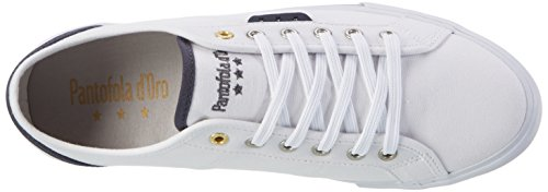 Pantofola d'Oro Arda Canvas Uomo Low, chaussons d'intérieur homme Blanc (Bright White)