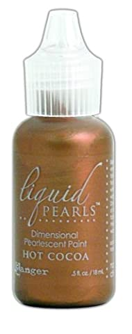 Perles liquide colle.5 oz bouteille-chaud cacao