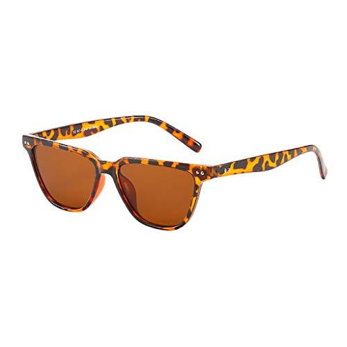 Diath klassische Damenmode Katzenaugen quadratische Reisnagel Sonnenbrille Brillengestell mit leichten professionellen Metallrahmen Spiegelgläsern