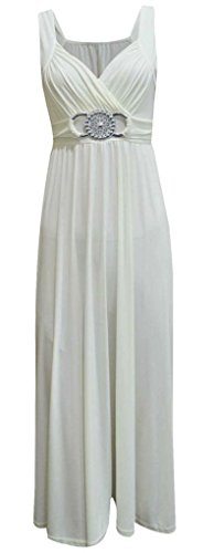 Generic - Robe - Cocktail - Femme multicolore Multicoloured Cream Buckle
