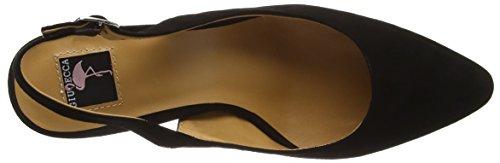 Giudecca Jycx15pr21-1 Damen Slingback Schwarz (Black)