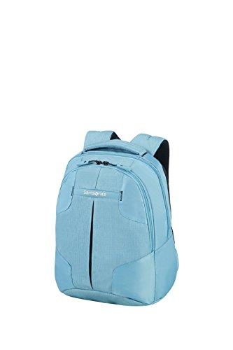 Imagen de samsonite rewind  backpack s  tipo casual, 38 cm, 15 liters, azul ice blue