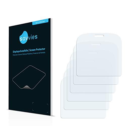 Savvies Schutzfolie für Doro 1361 [6er Pack] Folie Displayschutzfolie - Displayfolie klar
