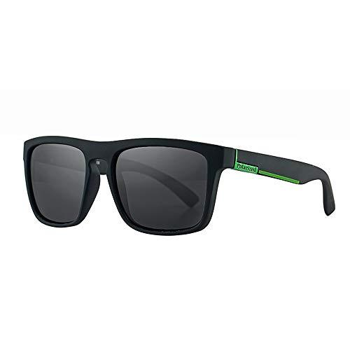 Lbyhning Sonnenbrille Herren, Männer und Frauen Mode Box Bunte Polarisator, Trend Driving Sun Sonnenbrille, Reiten im Freie