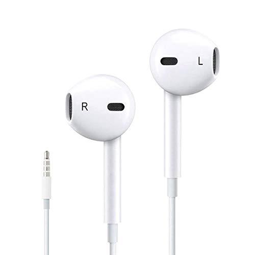 AMZLIFE Kopfhörer/Ohrhörer mit Fernbedienung und Mikrofon für Apple iPhone 6 6s 6 Plus 5 5s 5c iPad iPod Samsung Huawei Nokia Xiaomi Lenovo und andere Smartphones